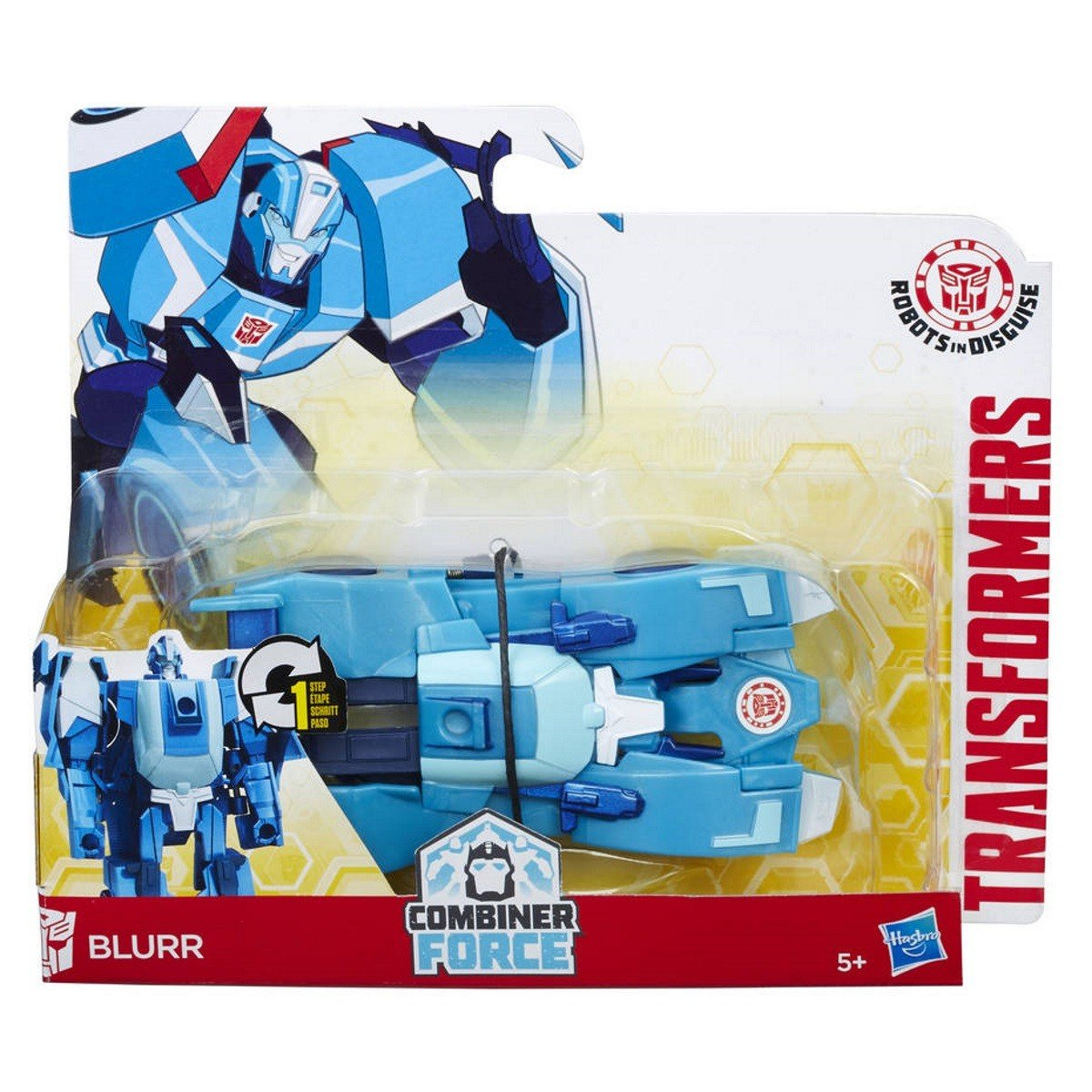 Hasbro - Transformers - RID On Step Changers, Blurr (C0898)