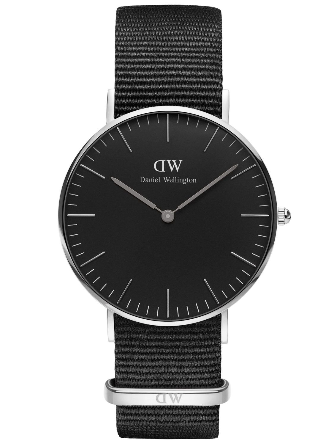 daniel wellington classic black cornwall lady. Black Bedroom Furniture Sets. Home Design Ideas