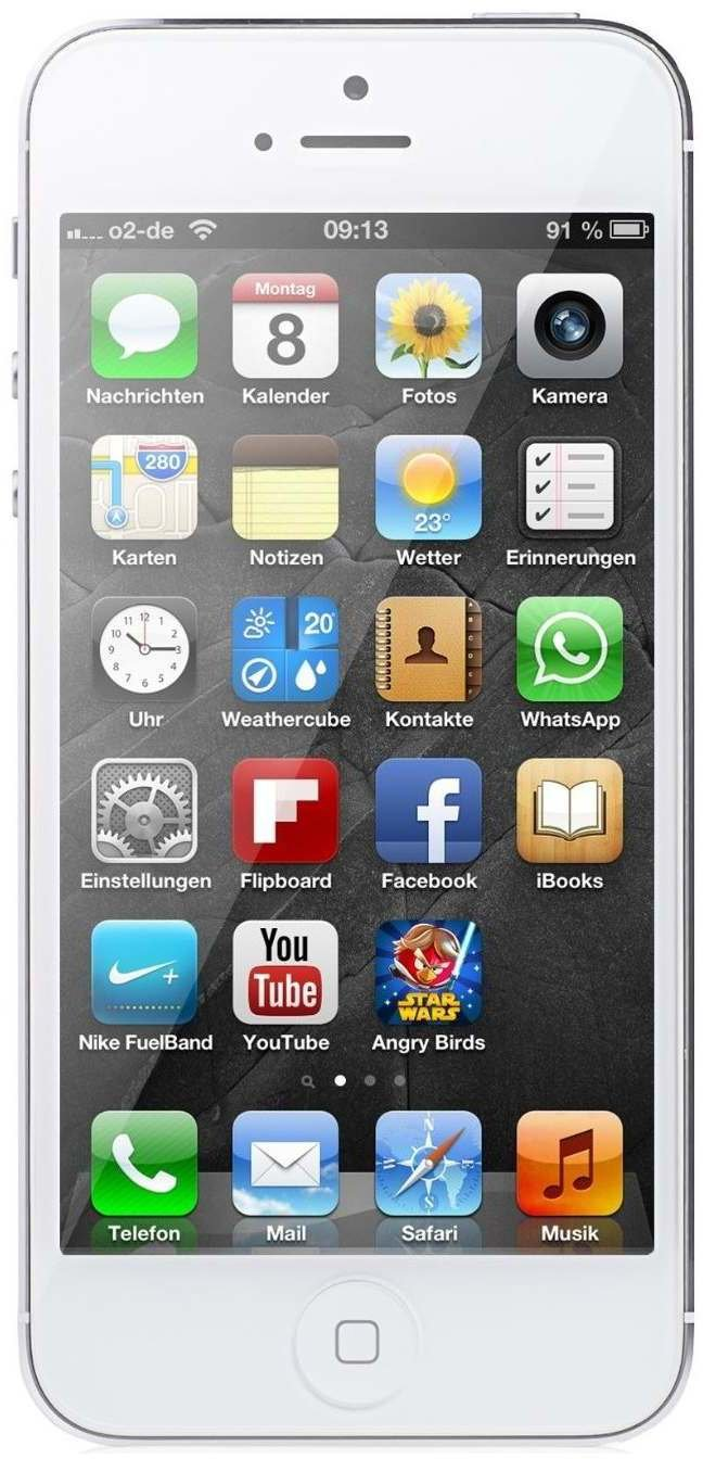 apple iphone 5 16gb wei preis ohne vertrag im check24 preisvergleich. Black Bedroom Furniture Sets. Home Design Ideas