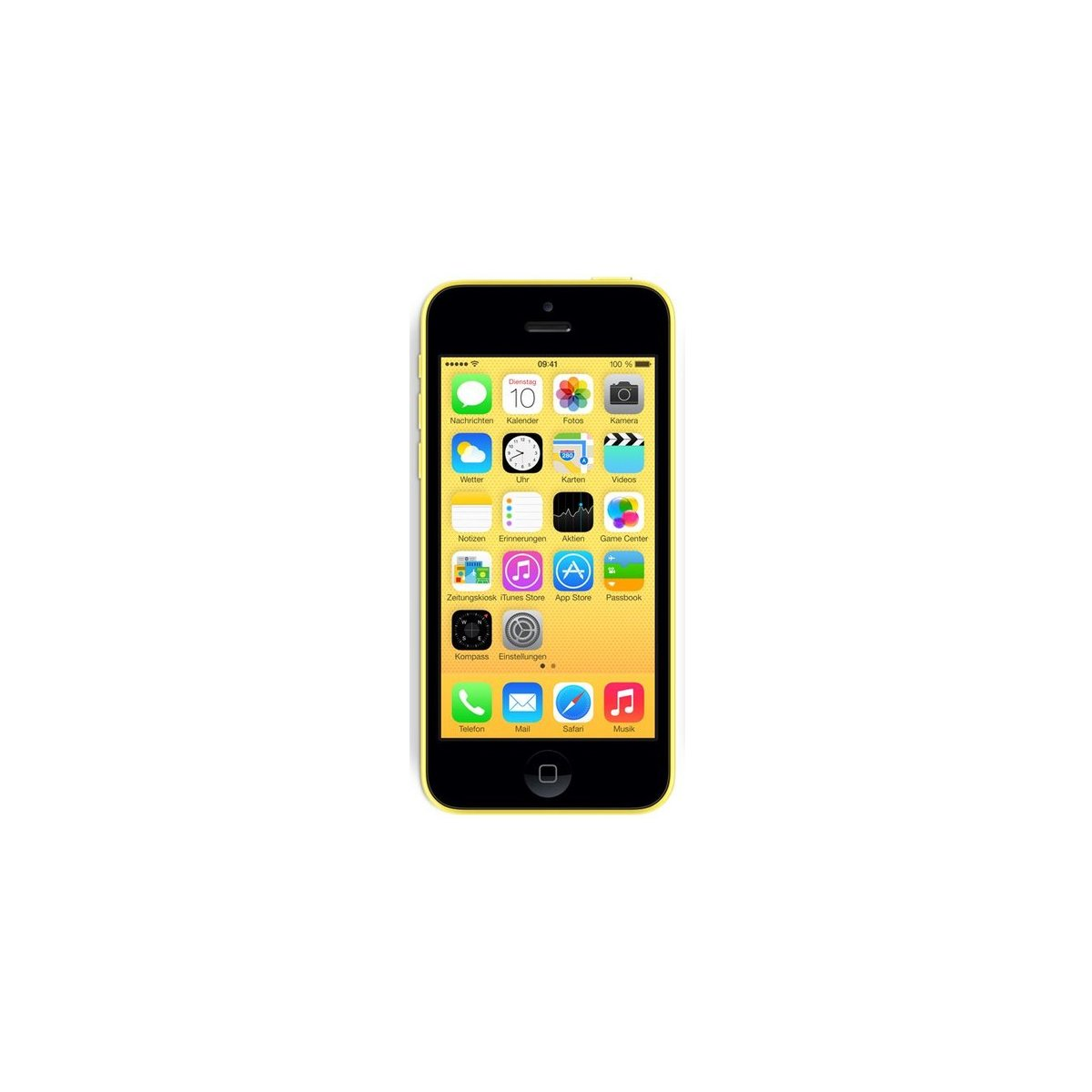 apple iphone 5c 16gb gelb preis ohne vertrag im check24. Black Bedroom Furniture Sets. Home Design Ideas