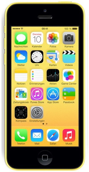 apple iphone 5c 32gb gelb preis ohne vertrag im check24 preisvergleich. Black Bedroom Furniture Sets. Home Design Ideas