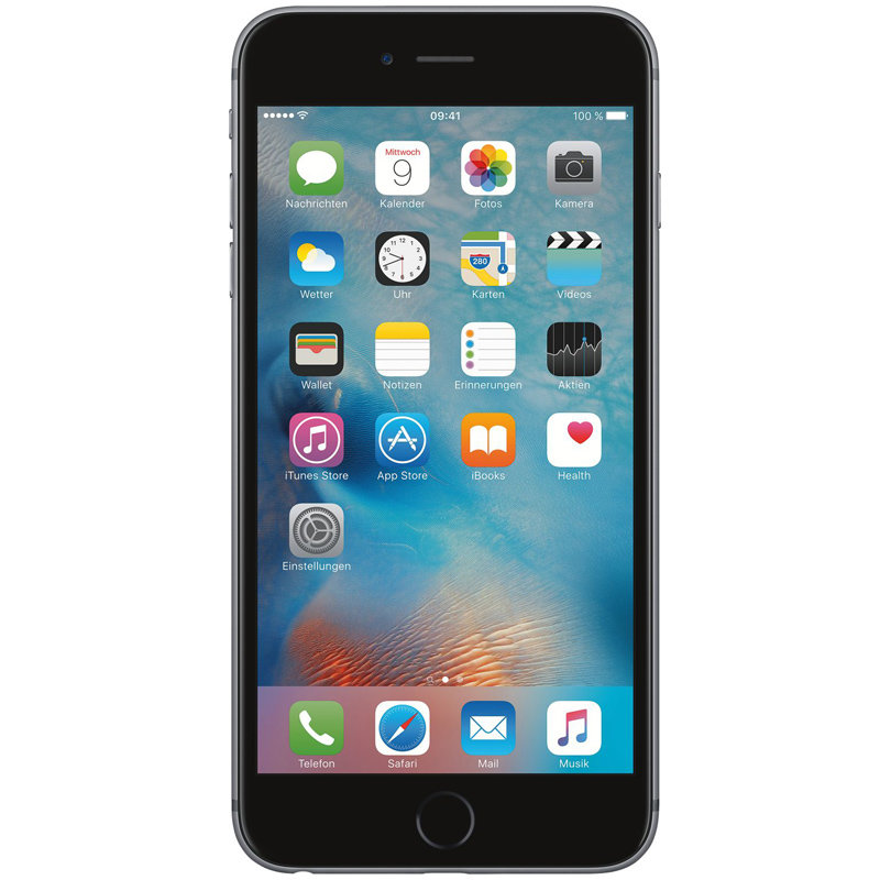 apple iphone 6s plus 16gb spacegrau preis ohne vertrag im. Black Bedroom Furniture Sets. Home Design Ideas