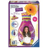 Ravensburger - 3D Puzzles - Girly Girl Edition - Blumenvase - Soy Luna, 216 Teile