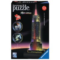 Ravensburger - 3D Vision Puzzle - Empire State Building bei Nacht, 216 Teile
