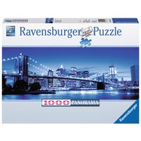 Ravensburger - Panoramapuzzle - Leuchtendes New York, 1000 Teile